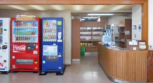 売店(2階)